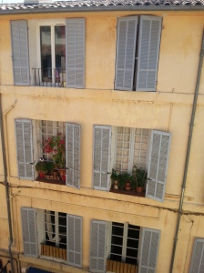 23. View from one of our apartments in Aix-en-Provence