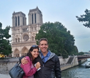 Paris with Michael. Turns out we're good travel partners.