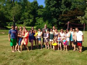 These are my first cousins. And some of their kids. And some of my aunts and uncles. And my siblings and nieces. 95% of whom live within 15 miles of each other.
